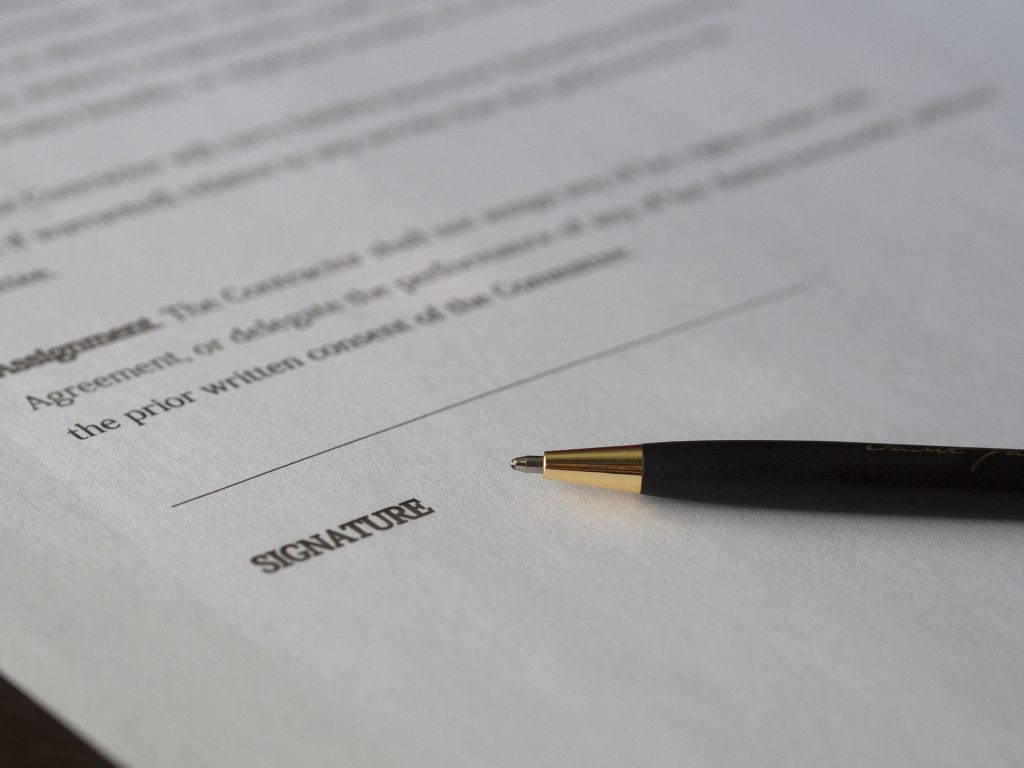 internet service contract